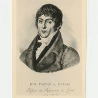 Johann Caspar von Orelli<br /> 1787-1849